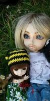 father and daughter BJD by scarymovie13