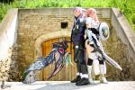 Caius and Lightning Cosplay by Hepheistion