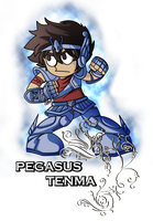 Tenma_Pegasus - BookMark by Jyuugo