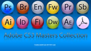 Adobe CS3 Master Collection by TheSaladMan
