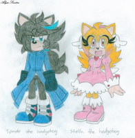 OCs 1 and 2 by sonicgirl1997