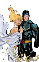 Cyclops and Emma by Chriss2d by Blindman-CB