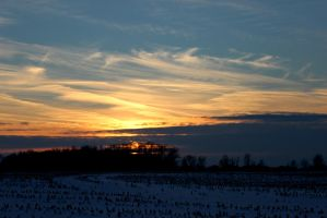Cold Sunset (2) by Michies-Photographyy