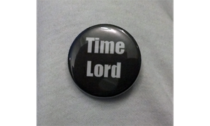Time Lord Button by LillyInverse