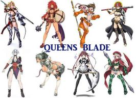 queens blade by seoane40