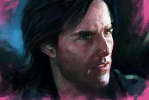Tom Cruise by kiransk