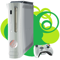 Xbox 360 created with Paint by hexeno