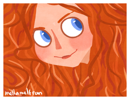 Merida by mellamelfran