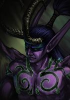 Illidan Stormrage by Infernal-Feline
