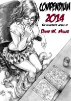 Compendium 2014 The art of DW Miller by ConceptsByMiller