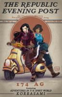 The Republic Evening Post: KORRASAMI by YoukaiYume