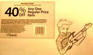 Rock that Coupon by kelly42fox