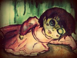 Creepy Doll by Awesomess