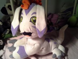 My gomamon plushie by cargirl9