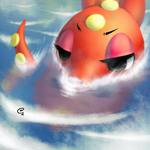 OCTILLERY GOES FOR A SWIM by ssbkid