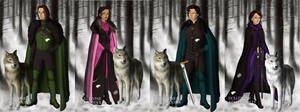 game of thrones the bane family by NAMIHATAKE6