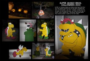 Halloween 2010 - displays by EmeraldBeacon