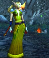 Blood Elf Female 254b - Ghostlands by solarnova1101
