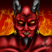 The Demon by StupidLesson