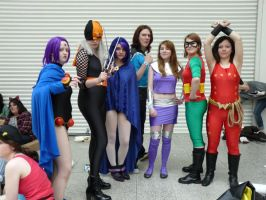 London MCM Expo: Teen Titans 2 by PrincessWombat