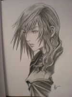 Lightning Final Fantasy 13-2 by Fang-Vanille