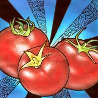 Tomatoes by artistm0nk