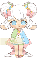 Adopt Auction - Konpeito [CLOSED] by paachi
