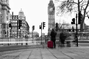 London - Waiting by DanFreeman