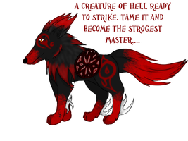 Roshu Hell Adopt by GrimmXD-Adopts