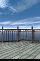 FREE STOCK Background.  End of the pier. by ArtReferenceSource
