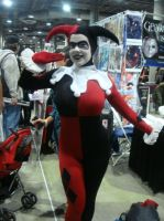 Harley Quinn at Comikaze by miss-kitty-j