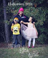 Dispicable me halloween 2014 by sakredsoul