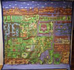 Link's Awakening Map Quilt by 8bitHealey