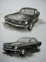 ink Mustang. by fly-hope-dream