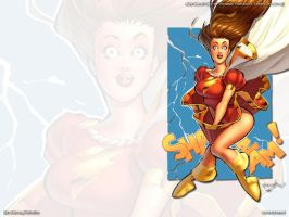 Mary Marvel: SHAZAM by batwolverine