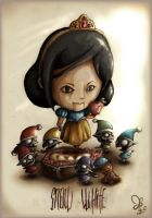 Snow White by fer-fer
