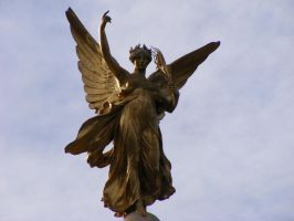 Golden Angel Stock by MDFS by Mrs-Dani-Filth-Stock