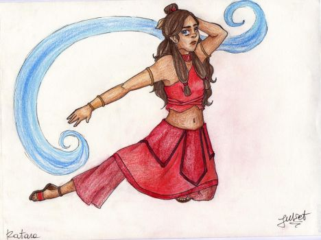 A waterbender in the Fire Nation by tonksgiuly