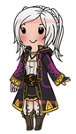 Chibi Female Tactician by roseannepage