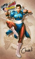 chun li fan art by DXSinfinite