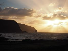sunrise on the pacific by wam17