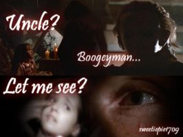Jamie+Uncle Michael- The Attic by sweetiepie1709