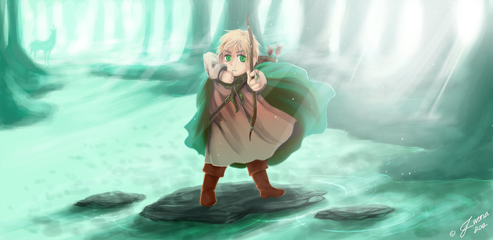 A Son of the Forest by Zweri