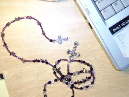 Shadow Box: Rosary by Mallenroh001