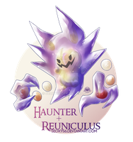 Haunter x Reuniculus by Seoxys6