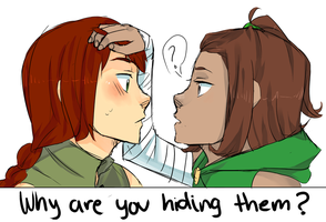 RC: why are u hiding them? by SawakoDandiNekoCX
