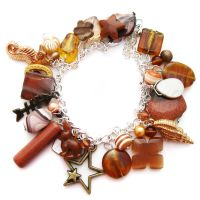 Autumn Charm Bracelet by fairy-cakes