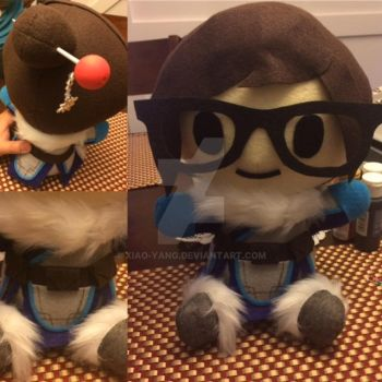 Mei plush for Birthday Present! by Xiao-Yang