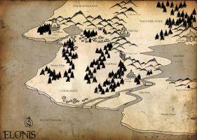 - Map of Elonis - by Dorchette