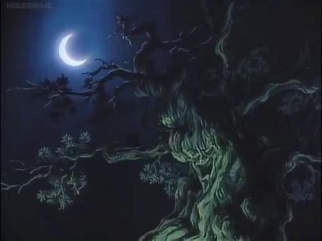 Anime tree by warlover12